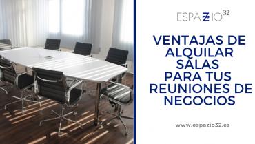 Ventajas del alquiler de salas de reuniones en Madrid