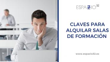 Alquiler salas de formación en Alcobendas