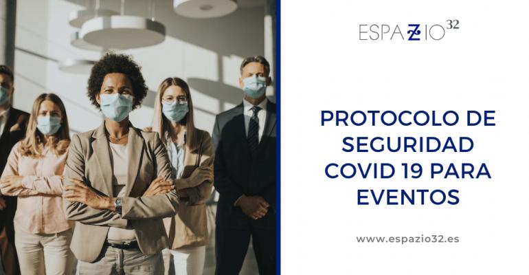 Protocolo de seguridad covid 19 para eventos
